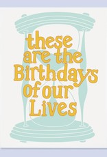 The Good Twin Card - Birthday: Days of our lives
