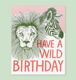 Card - Birthday: Wild Birthday