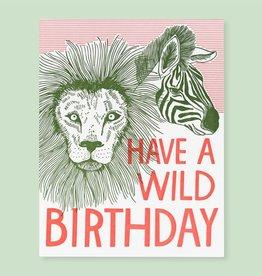 The Good Twin Card - Birthday: Wild Birthday