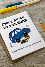 Card - Blank: Bump in the road