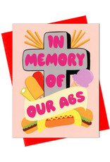Card - Blank: In memory of our abs