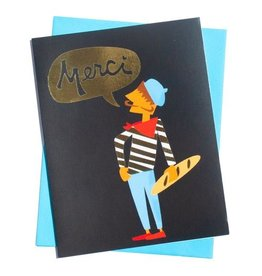 Card - Thank you: Merci
