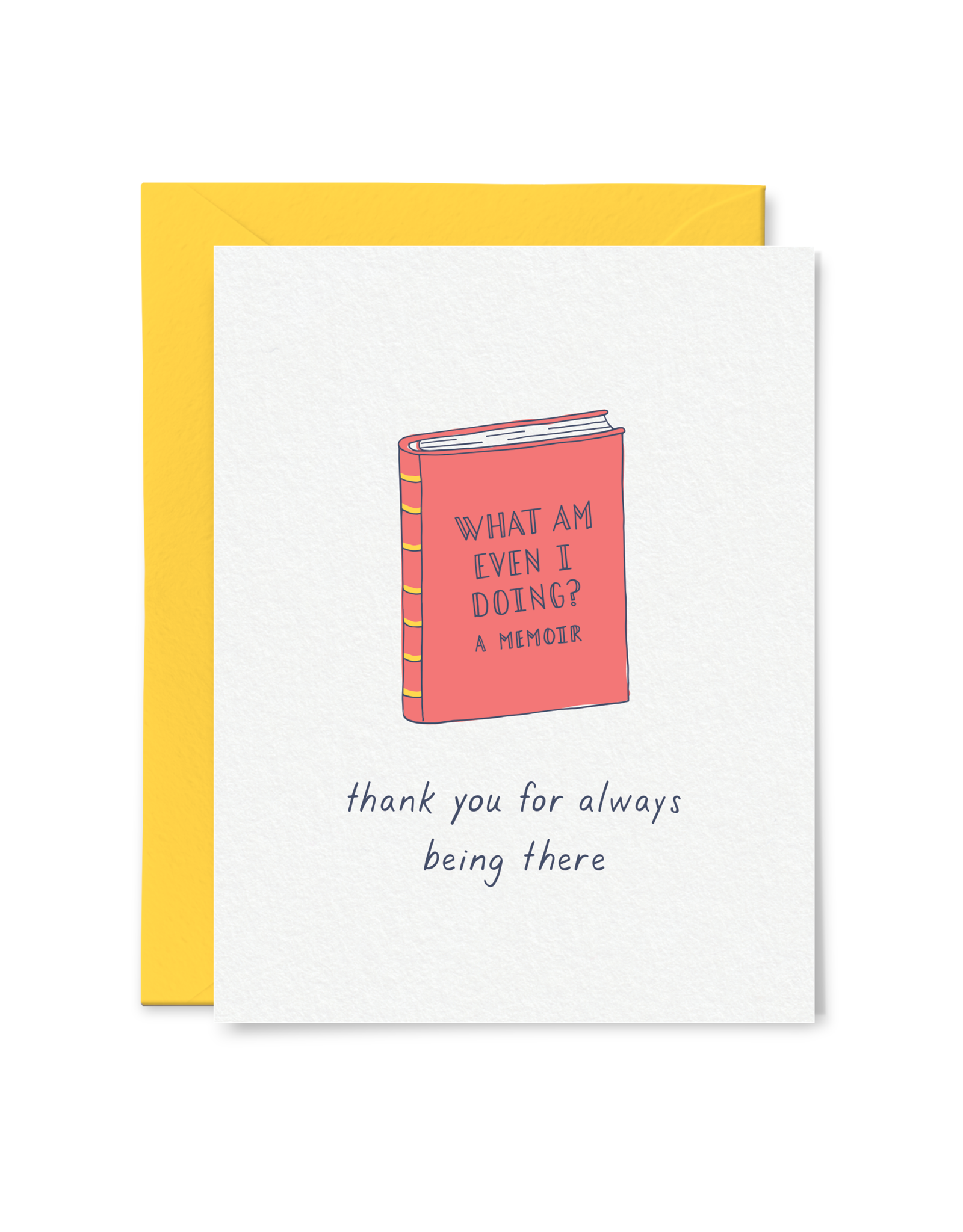 Card - Thank you: For always being there