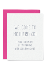 Card - baby: Welcome to Motherhood