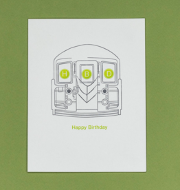 Card - Birthday: HBD