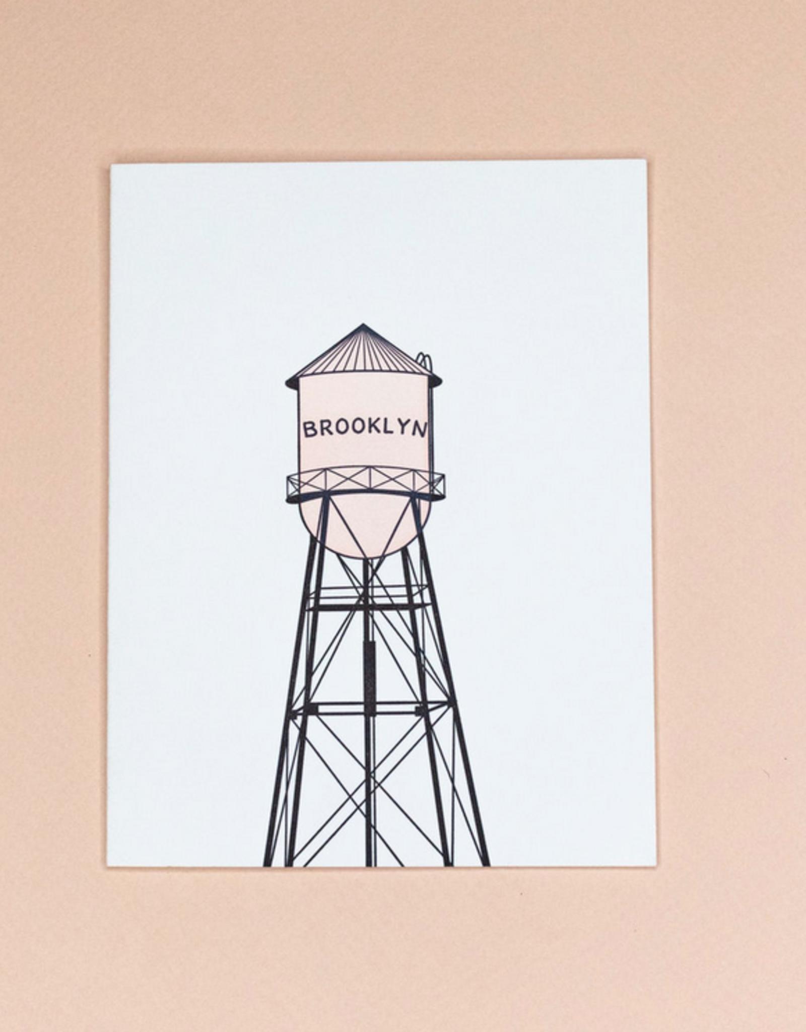 Card - Blank: Brooklyn Watertower