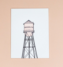 Card - Blank: Brooklyn Watertower