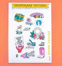 Temporary Tattoo - Feminist set