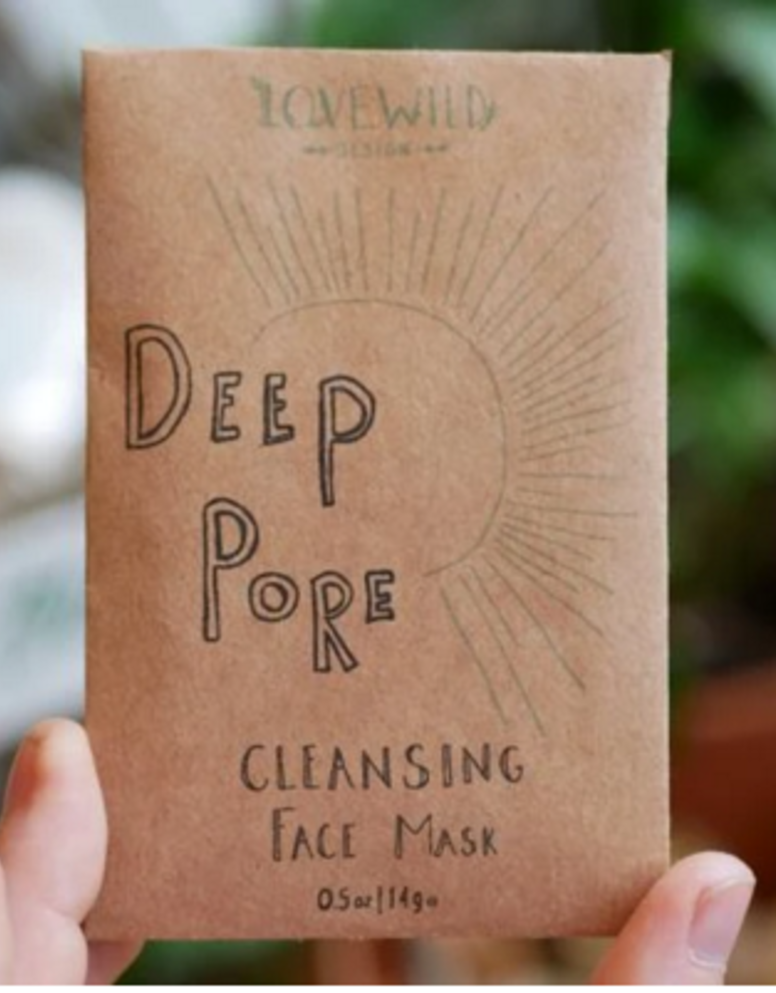 Love Wild Design Face Mask: Deep Pore