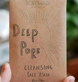 Love Wild Design Face Mask: Deep Pore