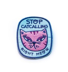 Rhino Parade Patch - Stop Catcalling