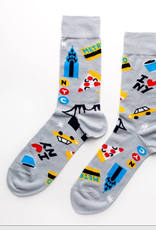 Yellow Owl Workshop Socks NYC (Men's)