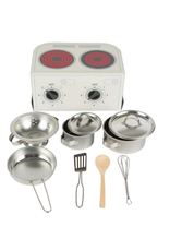 Cooking Set: Red Daisys
