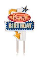 Happy Birthday Flashing Cake Topper