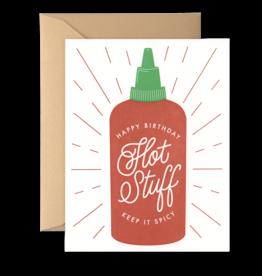 Card - Birthday: Hot stuff