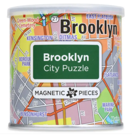 Puzzle: Magnetic 100 pieces Brooklyn