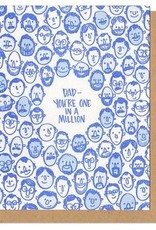 Card:Dad - You're one in a million