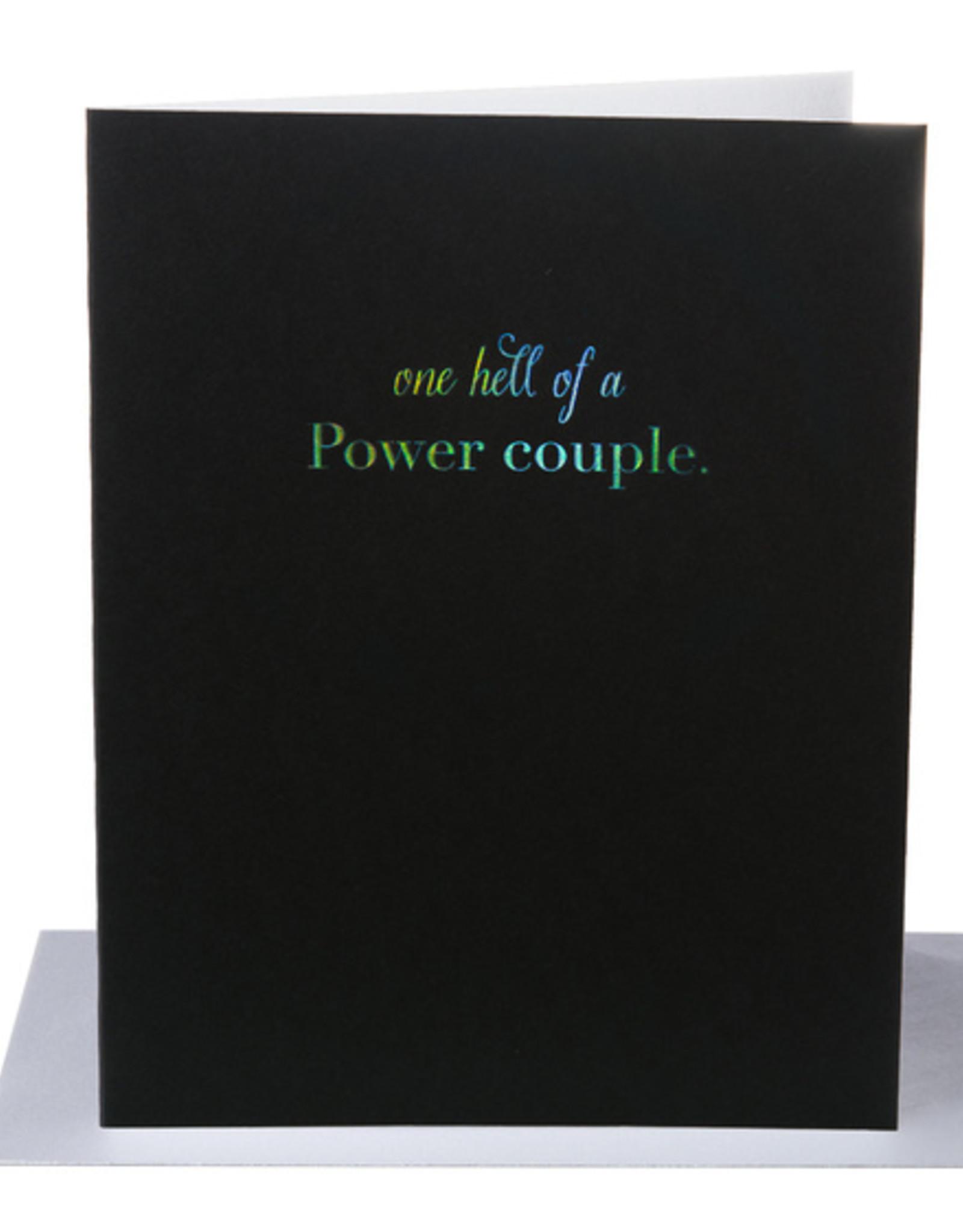 Card - Love: Power Couple