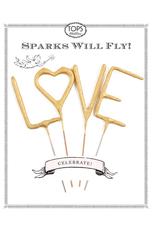 Sparkler: LOVE set