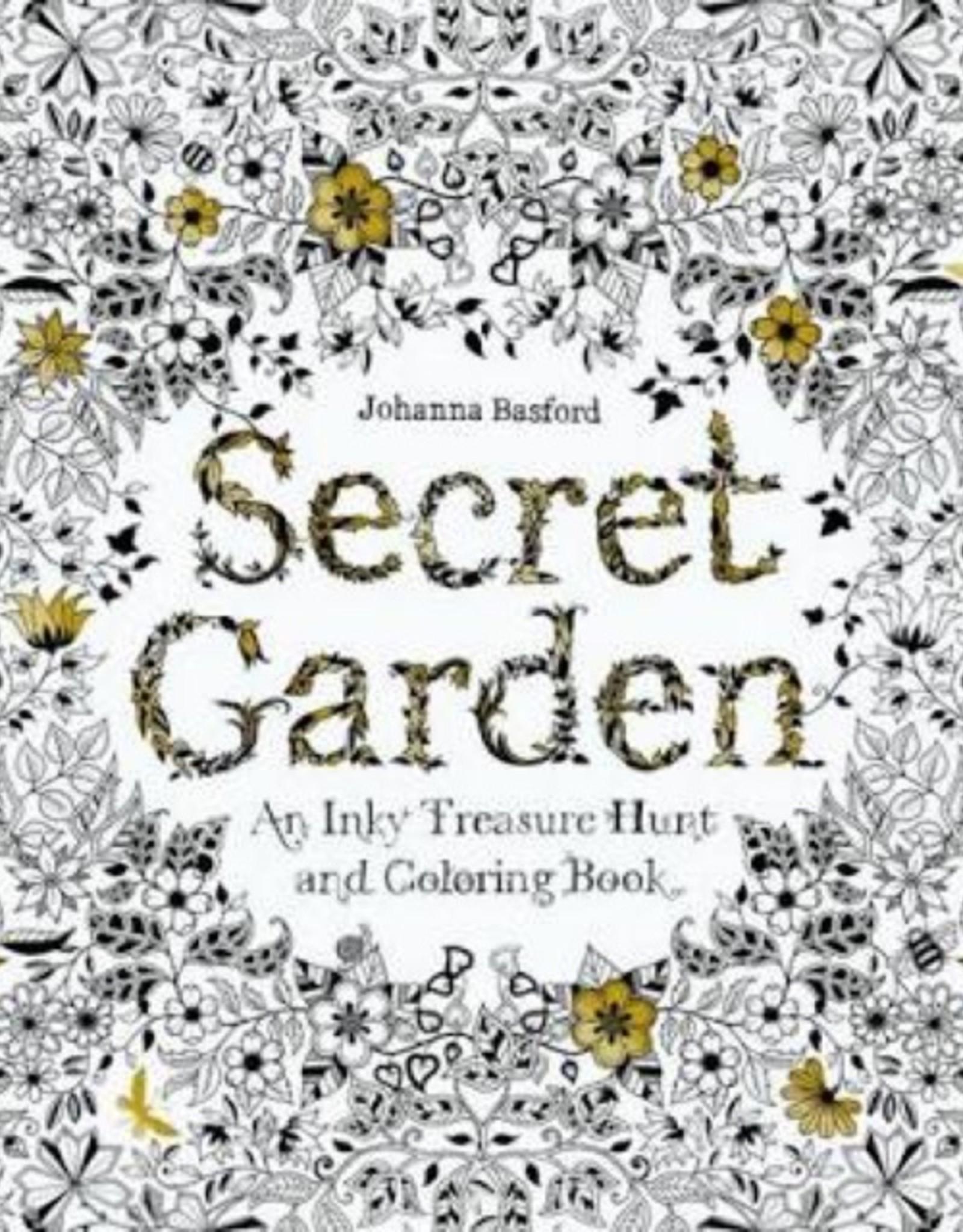 Coloring Book: Secret Garden