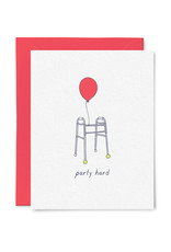 Card - Birthday: Party Hard Walker