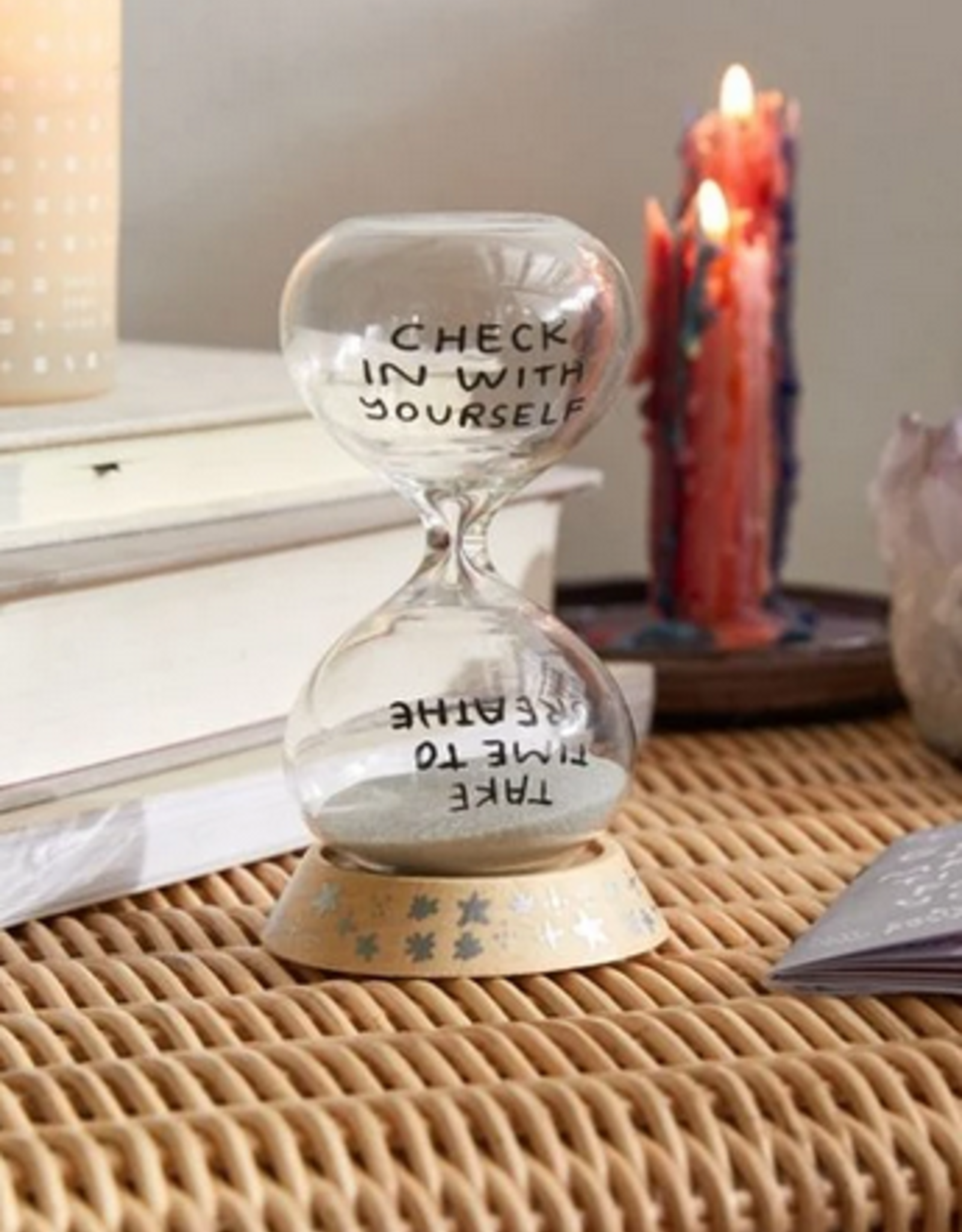 Chronicle Books Time for you sand timer