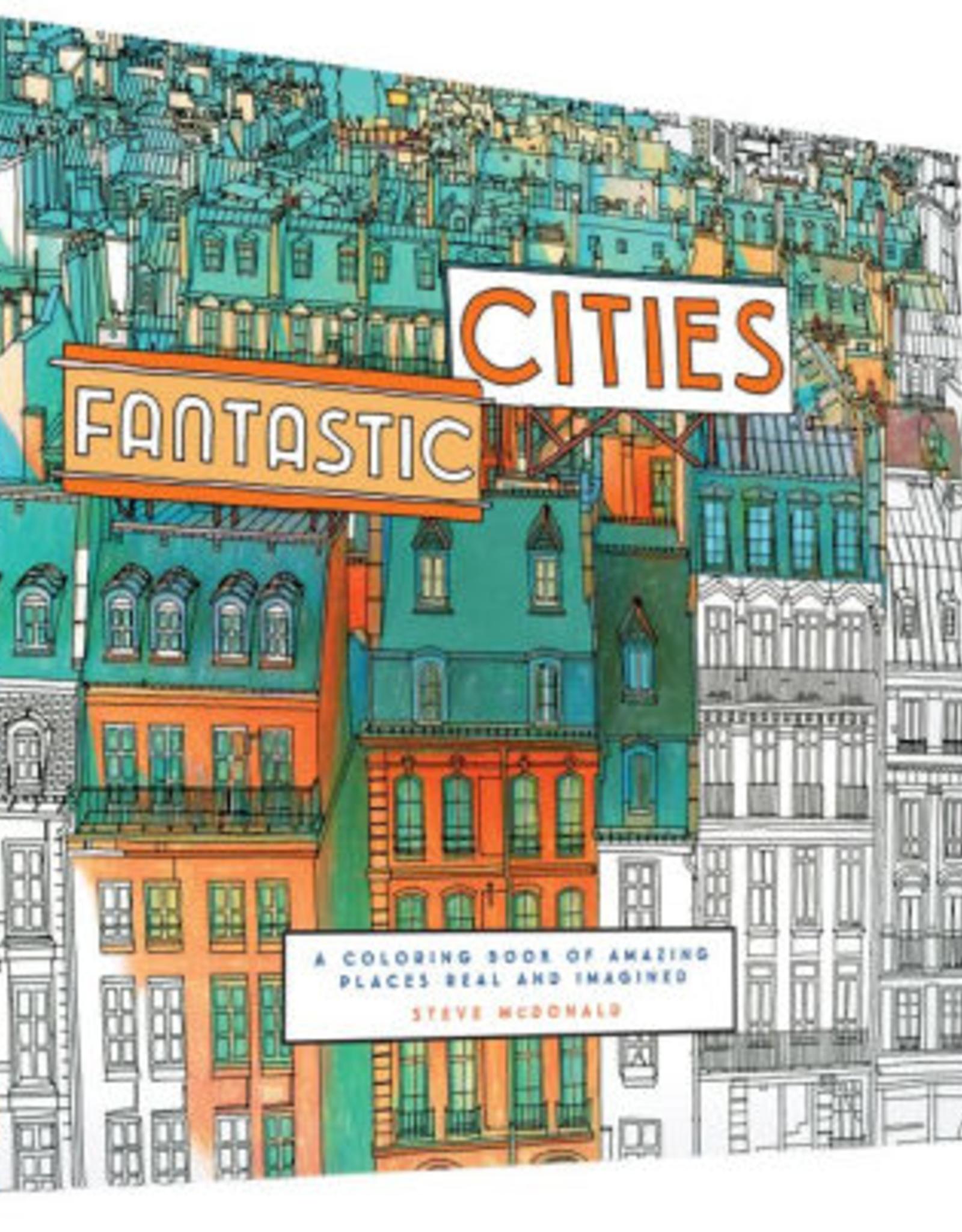 Coloring Book: Fantastic Cities