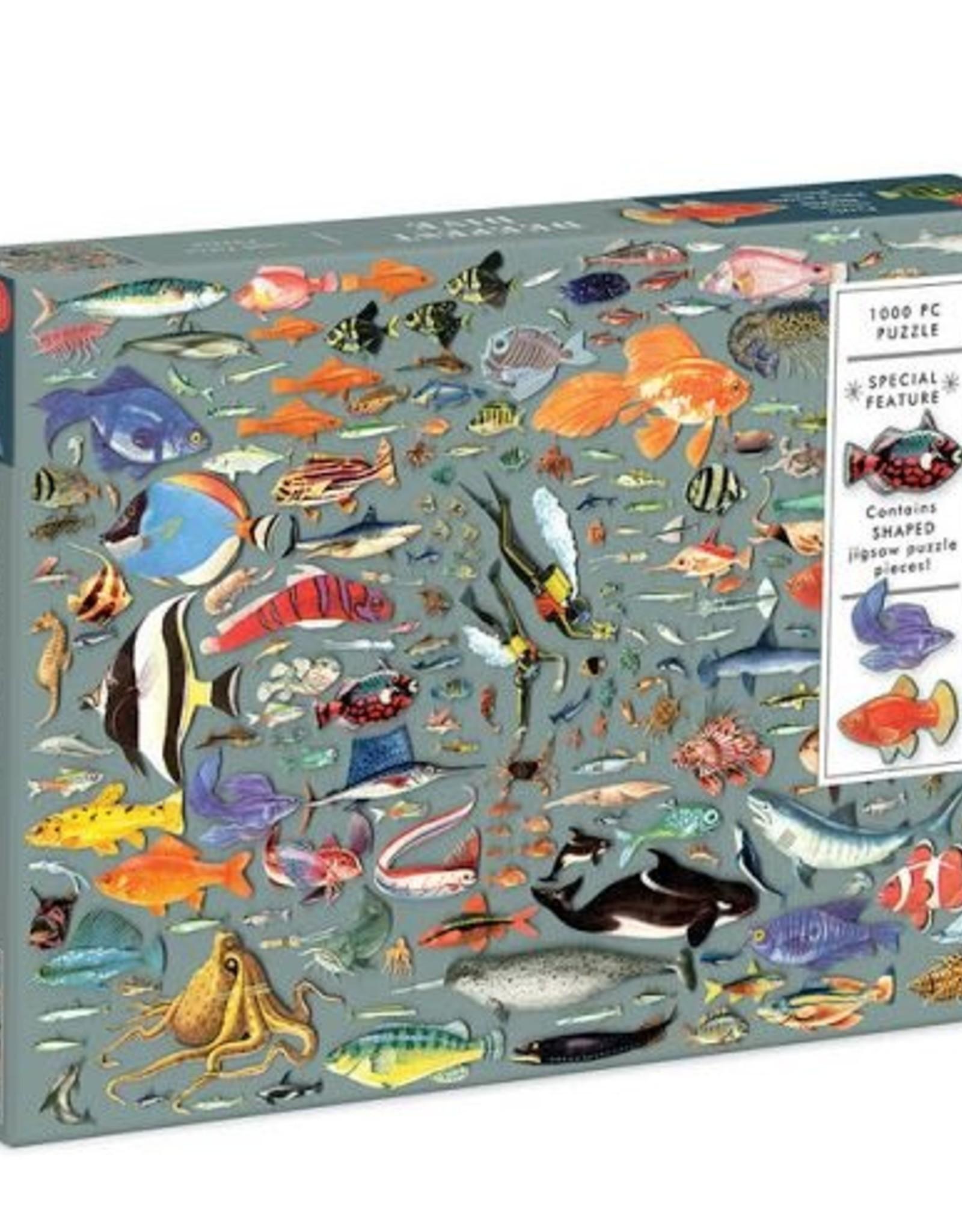 Puzzle 1000 Piece: The Deepest Dive
