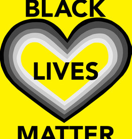 Protest Posters BLM - yellow