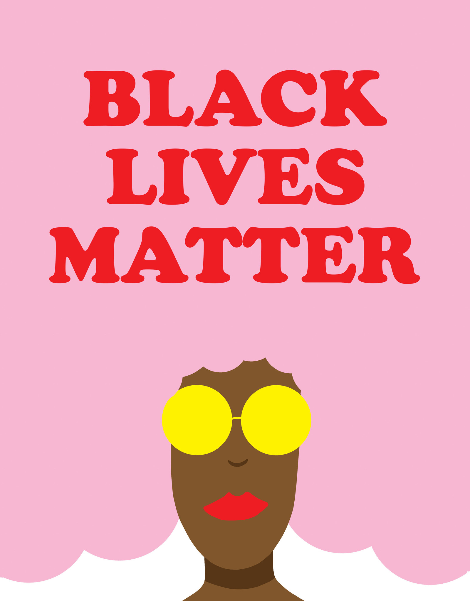 Protest Posters BLM - pink