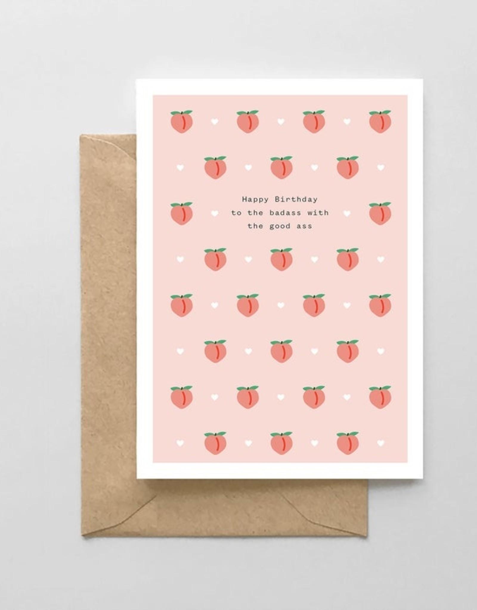 Card - Birthday: Badass with a Goodass
