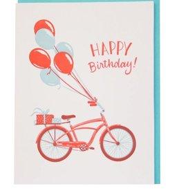 Card - Birthday: Bike