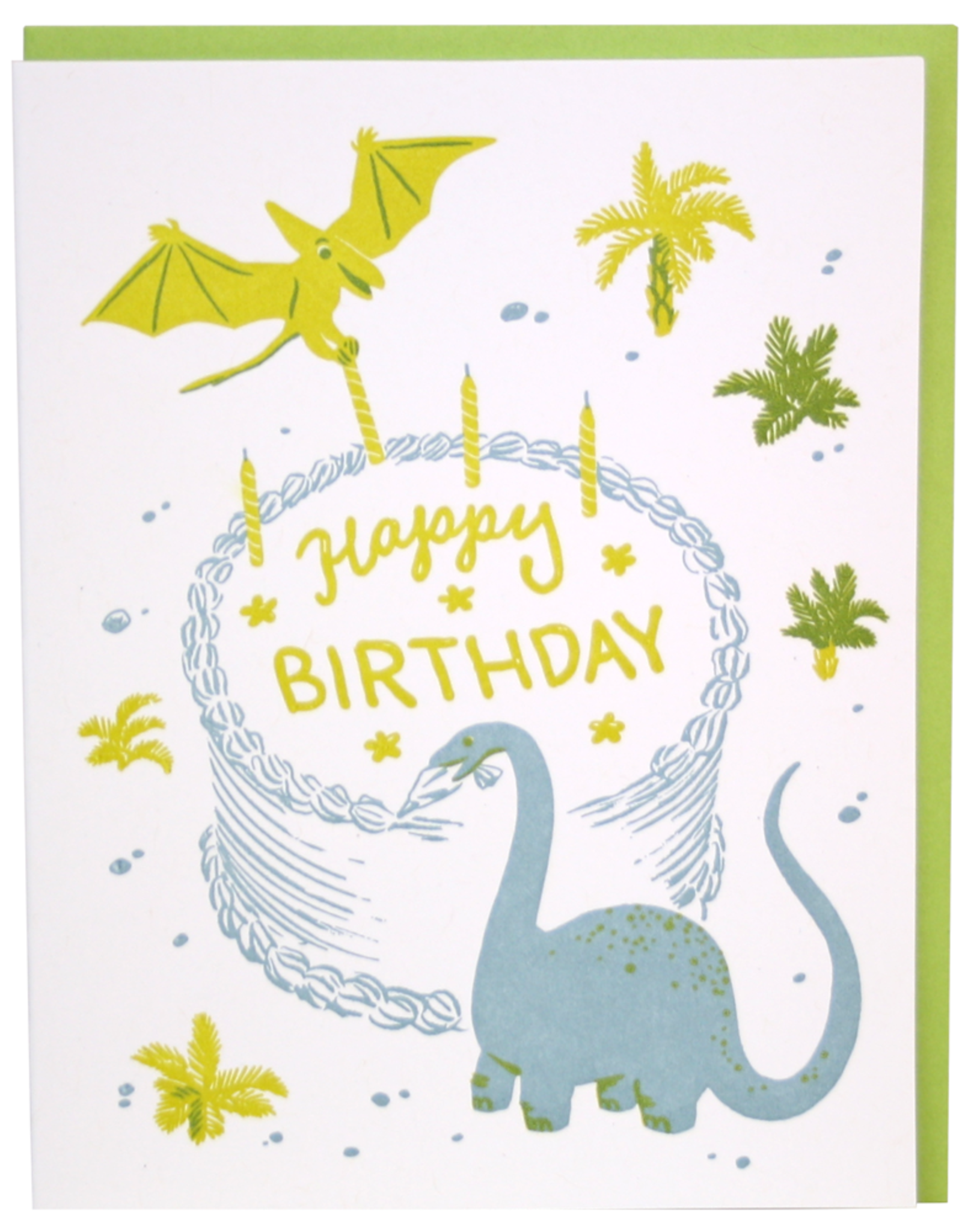 Card - Birthday: Dino Baker