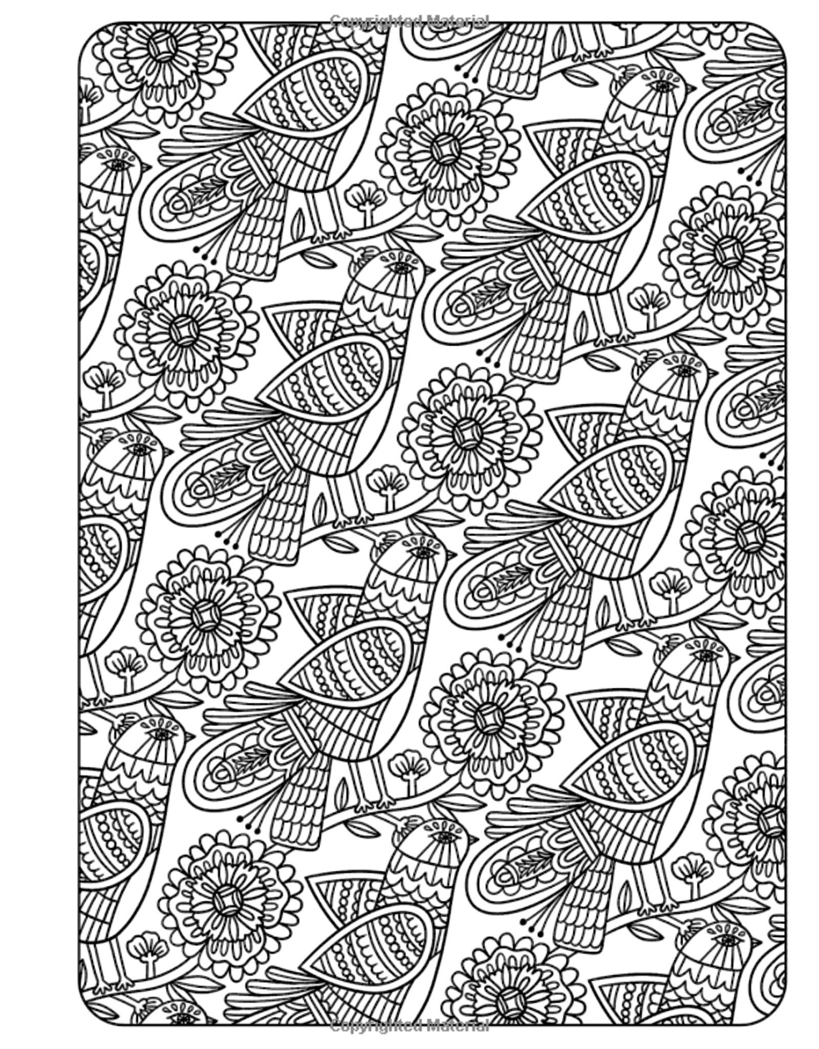 Posh Coloring Book: Patterns for peace
