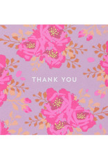 Boxed Cards - Thank you: English Roses in Mulberry (10)