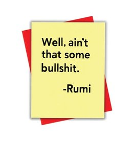 xou Card - Blank: Rumi