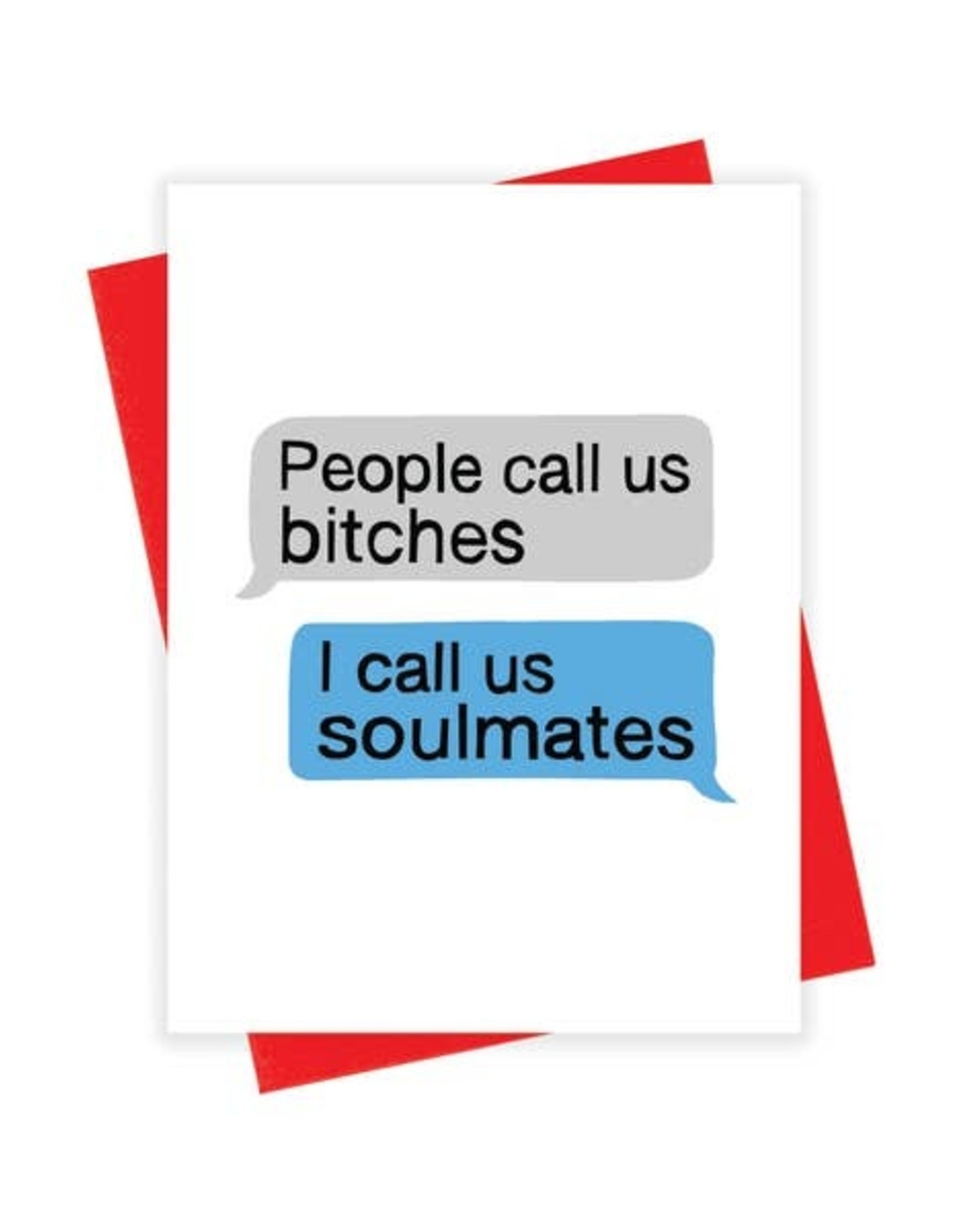 Card - Blank: Soulmates