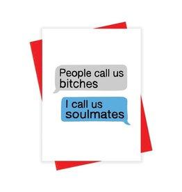 xou Card - Blank: Soulmates