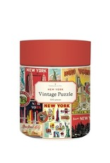 Cavallini Papers & Co. Puzzle: NYC Collage 500 pieces