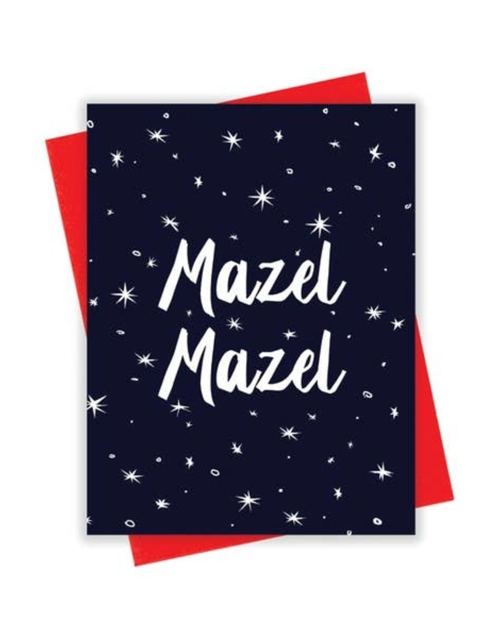 Card - Congrats: Mazel