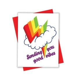 Card - Blank: Lightning Vibes