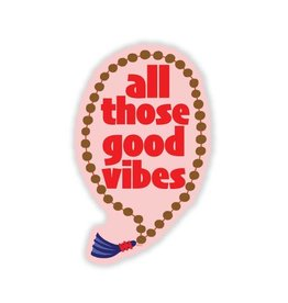 Sticker: Good vibes