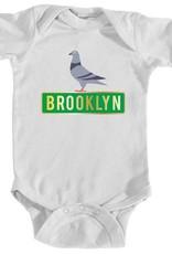 Brooklyn Pigeon Onesie