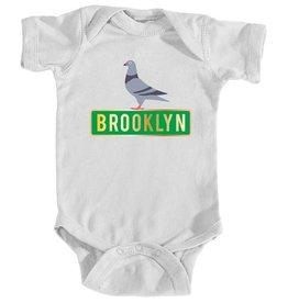 Miniflexkids Brooklyn Pigeon Onesie