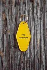 Motel Key Tag - Stay Awesome