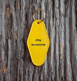 Motel Key Tag - Stay Awesome