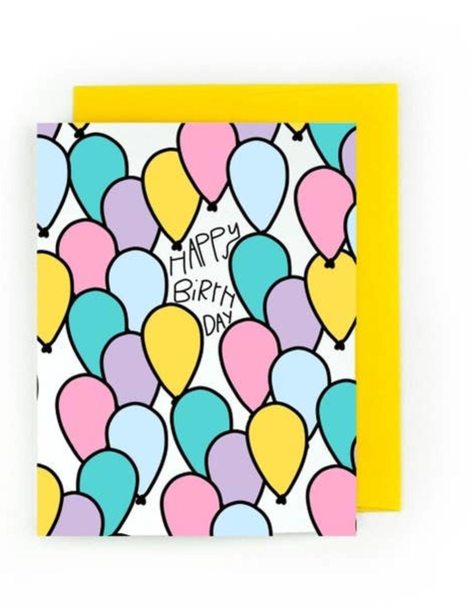 Card - Birthday: Crowded Birthday