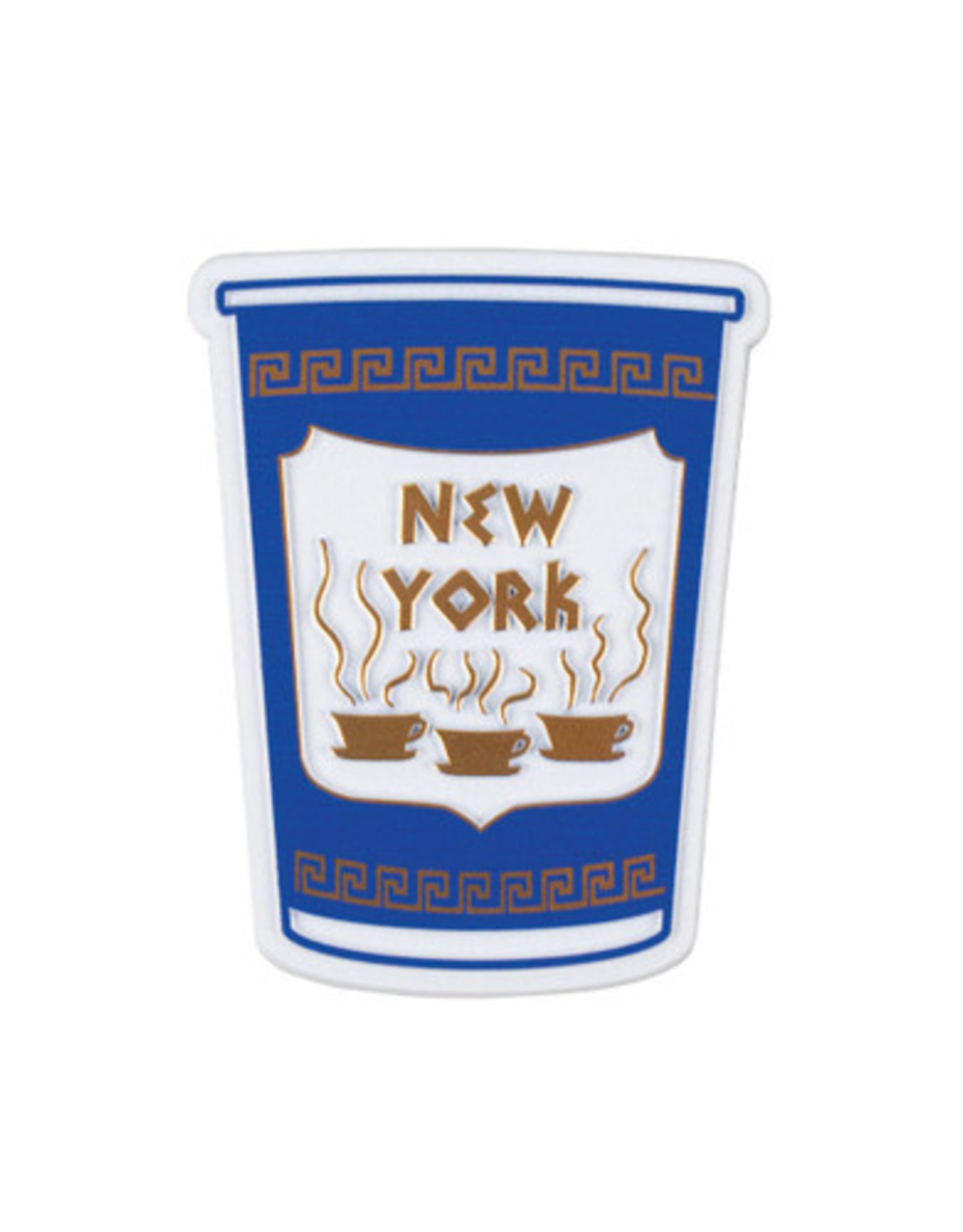Magnet: Retro Greek Coffee