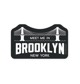 Seltzer Goods Sticker: Meet me in Brooklyn
