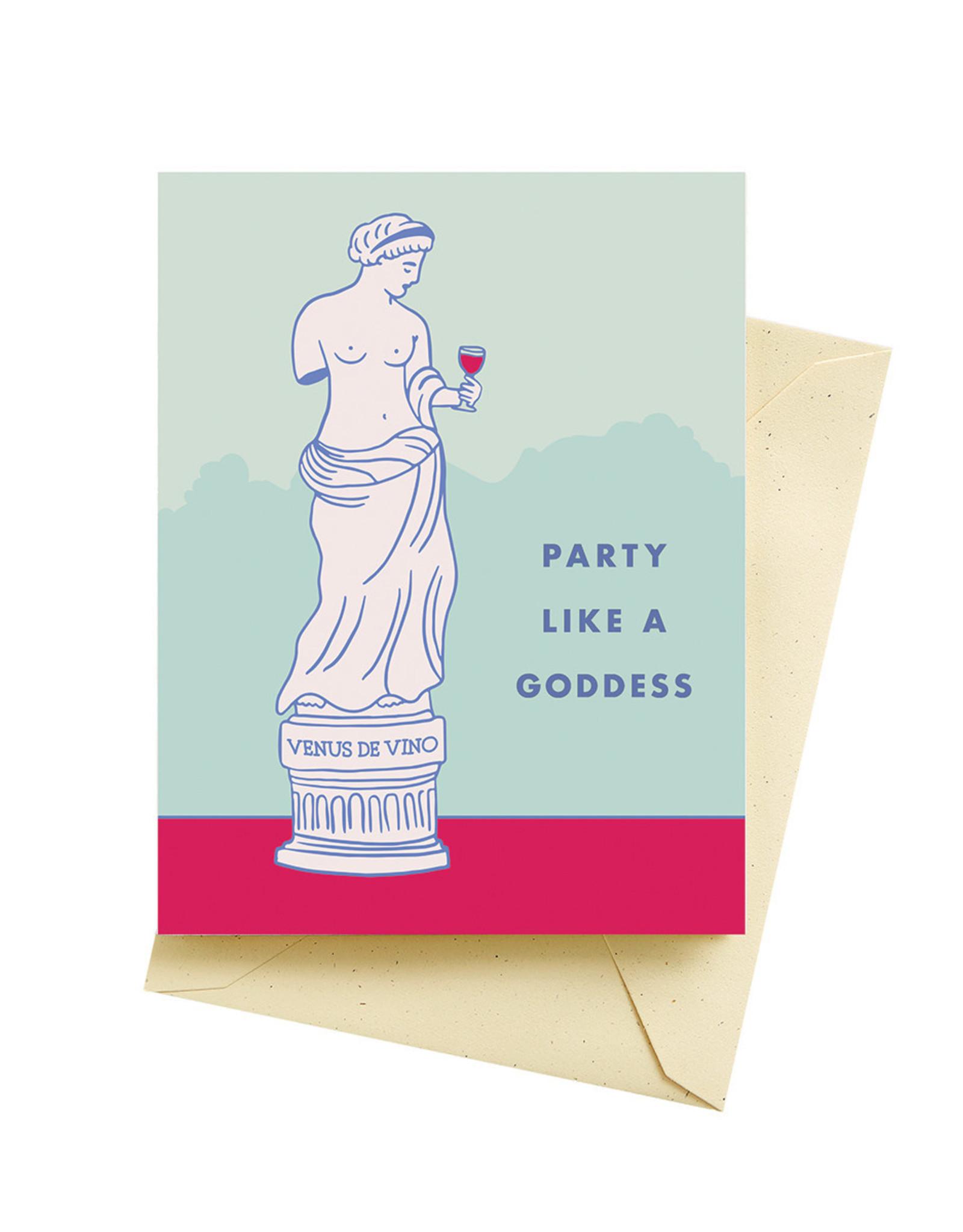 Card - Birthday: Goddess